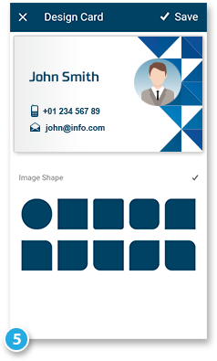 Digital Business Card App – Easy to use